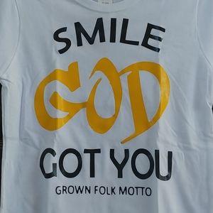Smile God Got You Inspirational T-shirt
